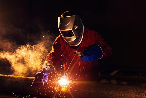 welding repair for industrial products